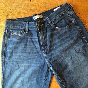 Levi's 505 straight leg jeans sz 10